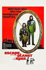 Escape from the Planet of the Apes (1971) Box Art
