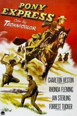 Pony Express (1953) Box Art