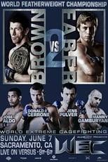 WEC 41: Brown vs. Faber 2