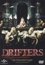 Poster anime Drifters: The Outlandish Knight Sub Indo