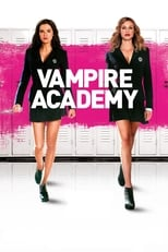 Official movie poster for Vampire Academy (2014)