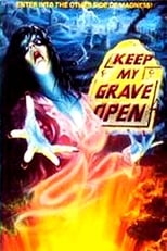 Official movie poster for Keep My Grave Open (1976)