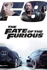 Official movie poster for The Fate of the Furious (2017)