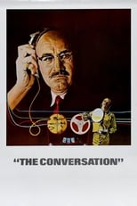 Official movie poster for The Conversation (1974)