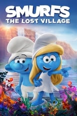 Official movie poster for Smurfs: The Lost Village (2017)