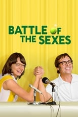 Official movie poster for Battle of the Sexes (2017)
