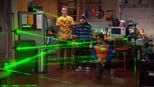 Big Bang: A Teoria: 2 Temporada, A Nanopartícula da Música de Trabalho