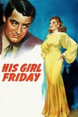 His Girl Friday (1939) box art