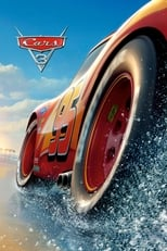 Official movie poster for Cars 3 (2017)