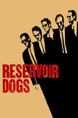 Official movie poster for Reservoir Dogs (1992)