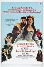 Anne of the Thousand Days (1969) Box Art
