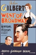 Official movie poster for West of Broadway (1931)