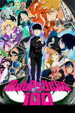 Poster anime Mob Psycho 100 Sub Indo
