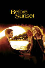 Official movie poster for Before Sunset (2004)