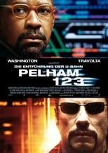 Filmposter: Die Entführung der U-Bahn Pelham 123