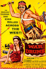 War Drums (1957) Box Art