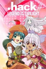 Poster anime .hack//Tasogare no Udewa Densetsu Sub Indo