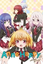 Poster anime Anne Happy♪Sub Indo