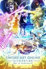 Poster anime Sword Art Online: Alicization – War of Underworld 2nd Season Sub Indo