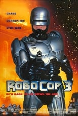 Poster for RoboCop 3