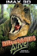 Poster for Dinosaurs Alive