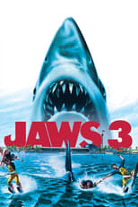 Official movie poster for Jaws 3-D (1983)