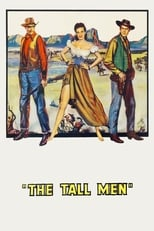 The Tall Men (1955) Box Art