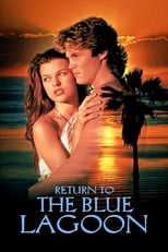 Poster for Return to the Blue Lagoon