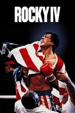 Official movie poster for Rocky IV (1985)