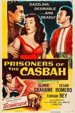 Prisoners Of The Casbah (1953) Box Art