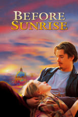 Official movie poster for Before Sunrise (1995)