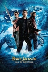 Percy Jackson: Sea of Monsters (2013) Box Art