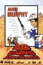 40 Guns to Apache Pass (1966) Box Art