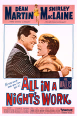 All In A Night's Work (1961) Box Art