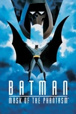 Official movie poster for Batman: Mask of the Phantasm (1993)