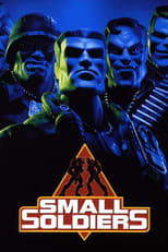 Official movie poster for Small Soldiers (1998)