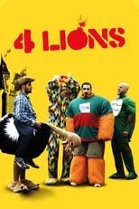 Four Lions (2010) Box Art