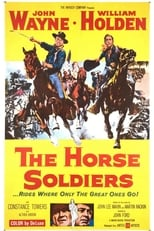 The Horse Soldiers (1959) Box Art