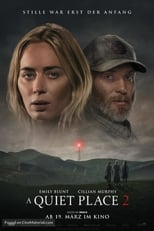 Filmposter A Quiet Place 2