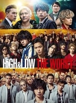 Poster anime HiGH&LOW THE WORST Sub Indo
