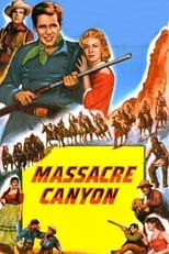 Massacre Canyon (1954) Box Art