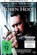 Robin Hood: Nach dem Tode König Richards lässt der begnadete Bogenschütze Robin den Krieg gegen die Franzosen hinter sich und kehrt zurück nach England, in ein durch Korruption und einen brutalen Sheriff gebeuteltes Nottingham. Schnell verliebt er sich in die willensstarke Witwe Lady Marion, die anfangs allerdings überaus skeptisch ist, was ihn und seine Beweggründe angeht. Nicht zuletzt um ihre Hand zu gewinnen, versammelt er eine Truppe Gleichgesinnter und gemeinsam mit seinen Männern macht er dem Sheriff einen Strich durch seine gierige Rechnung und macht jagt auf die Reichen, wobei er die Beute an die Armen verteilt. Doch seine von Jahrzehnten des Krieges geschwächte Heimat hält noch eine weitaus größere Aufgabe für Robin parat. So machen sich ausgerechnet dieser unwahrscheinlichste aller Helden und seine Verbündeten auf, einen blutigen Bürgerkrieg zu verhindern und England wieder zu neuem Ruhm und Glanz zu verhelfen.