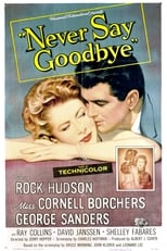 Never Say Goodbye (1956) Box Art
