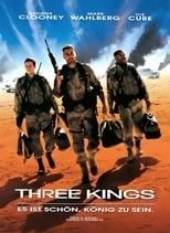Three Kings: Der Golfkrieg ist zu Ende, doch die Einheit um den knallharten Haudegen Archie Gates denkt noch nicht daran, nach Hause zu fahren – nicht ohne den sagenhaften Goldschatz, den die irakischen Invasoren während des Krieges aus Kuwait weggeschafft haben. Ein geheimnisvoller Lageplan soll die Truppe zu dessen Versteck führen, doch der Weg dorthin entwickelt sich zu einem hochexplosiven Abenteuer, die Soldaten müssen sich erstmals mit der komplexen Situation in einem Land auseinandersetzen, das auch gegen die eigenen Einwohner Krieg führt...