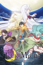 Poster anime Tsuki ga Michibiku Isekai Douchuu Sub Indo