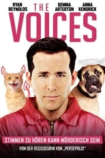 Filmposter: The Voices