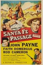 Santa Fe Passage (1955) Box Art