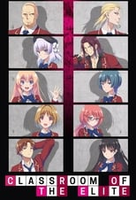 Poster anime Youkoso Jitsuryoku Shijou Shugi no Kyoushitsu e (TV) Sub Indo