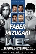 WEC 52: Faber vs. Mizugaki