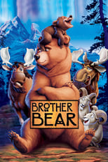 Official movie poster for Brother Bear (2003)